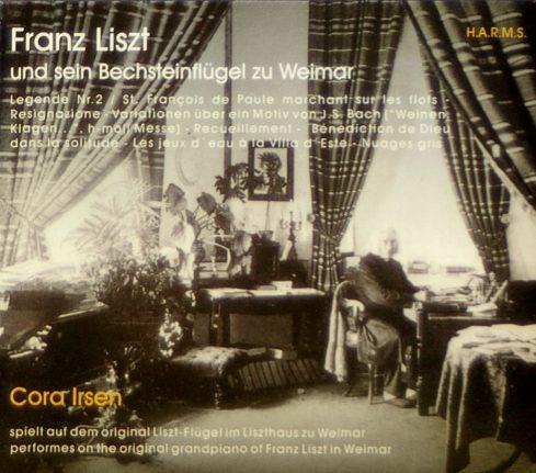 CD-Cover Franz Liszt und sein Bechsteinflügel zu Weimar, für Details zur CD bitte anklicken.