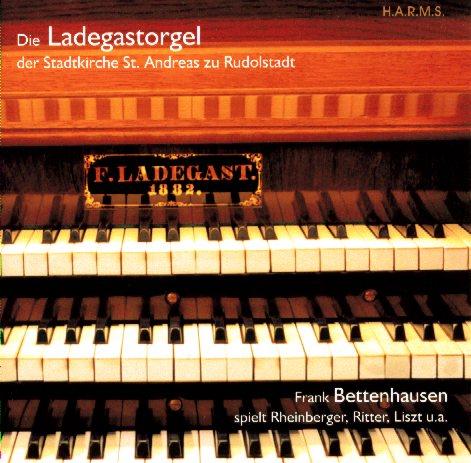 CD-Cover Ladegastorgel Rudolstadt, für Details zur CD bitte anklicken.