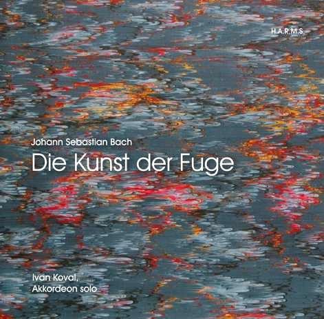CD-Cover Ivan Koval / J.S.Bach >>Die Kunst der Fuge<<, für Details zur CD bitte anklicken.