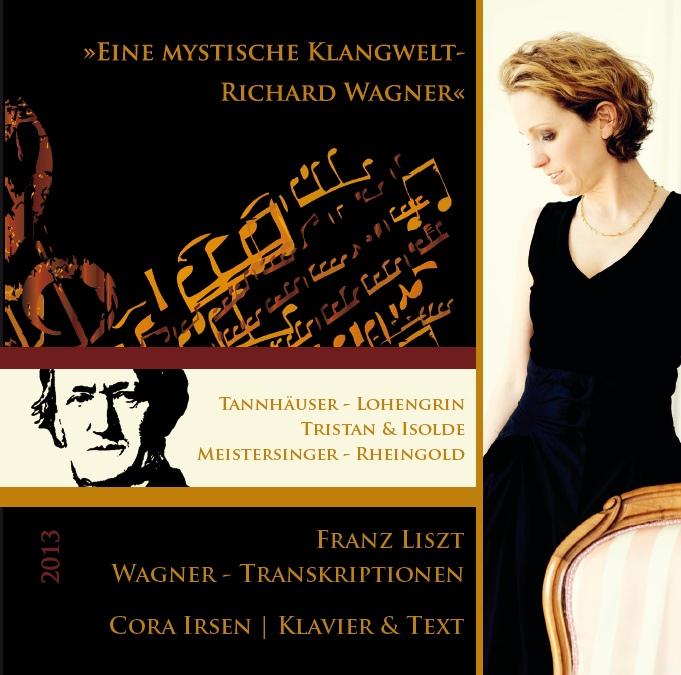 CD-Cover Cora Irsen / Wagner, für Details zur CD bitte anklicken.