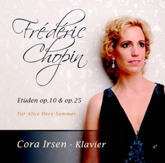 CD-Cover Cora Irsen / Chopin Etüden, für Details zur CD bitte anklicken.