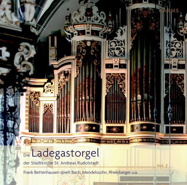 CD-Cover Ladegastorgel Rudolstadt Vol.2, für Details zur CD bitte anklicken.